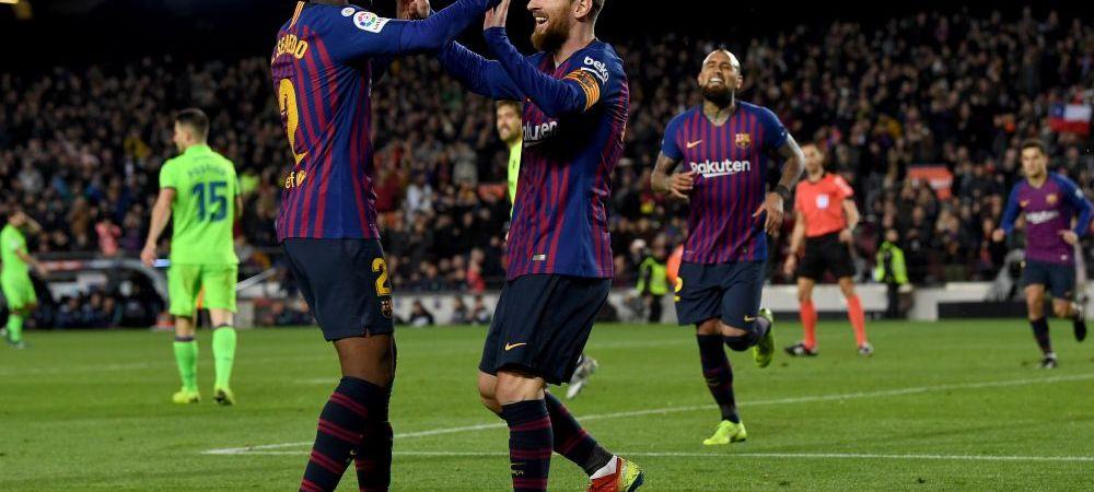 ALAVES 0-2 BARCELONA | Catalanii sunt la doi pasi de titlu! Cu gandul la Liverpool, Messi e menajat! Suarez si Alena au marcat