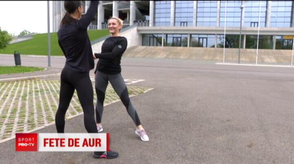 "Andreea si Maria, sperantele Romaniei europenele de gimnastica aerobica: ""Vrem cateva medalii"""