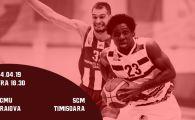 SCMU Craiova – SCM Timisoara, PLAYOFF Liga Nationala de Baschet Masculin LIVE VIDEO, 18:30. Ce rezultate au avut in sezonul regulat