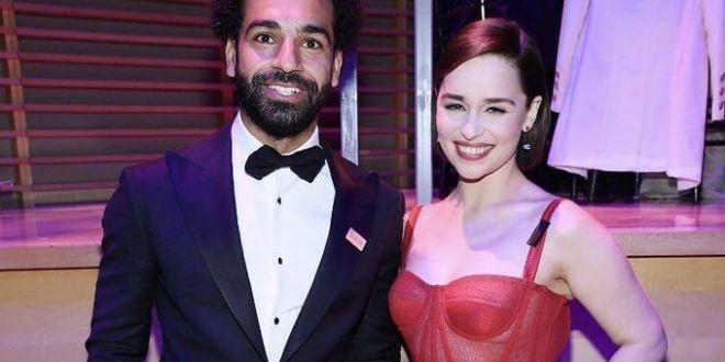 Mama dragonilor si tatal cormoranilor  :)) Salah, alaturi de vedete de la Hollywood la Gala Time 100! Pe cine a transformat in fan Liverpool