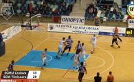 ACUM LIVE SCMU Craiova - SCM Timisoara, in Play Off-ul Ligii Nationale de Baschet! Urmareste partida VIDEO