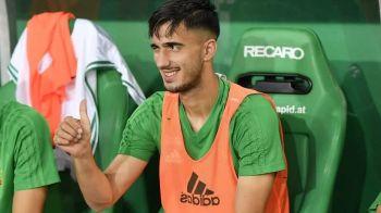 """Vine la FCSB? Rapid Viena nu vrea sa ii activeze clauza lui Andrei Ivan: """"Pur si simplu nu e constant!"""""""