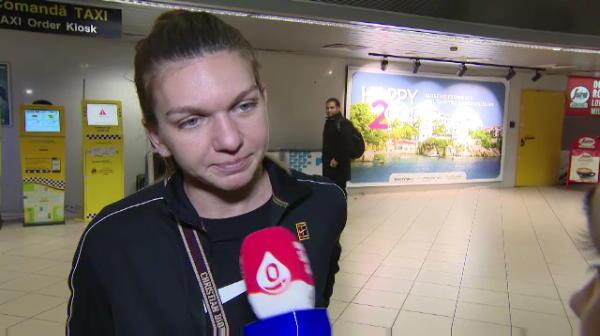 "Simona Halep, suparata la revenirea in tara: ""Am mici probleme!"" Intrebarea la care a refuzat sa raspunda"