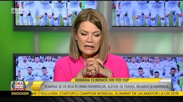 """""""Asta e problema noastra si asta trebuie sa invatam!"""" Verdictul lui Ilie Nastase dupa infrangerea Romaniei de la FED Cup"""