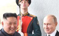 Intalnire ISTORICA in Rusia! Kim Jong-un, la discutii cu Vladimir Putin chiar in aceste momente