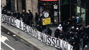 """""""Onoare lui Mussolini"""", salutul nazist si cantece rasiste pentru Bakayoko: suporterii lui Lazio, scene ingrozitoare la derby-ul cu Milan! VIDEO"""
