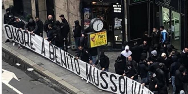 Onoare lui Mussolini , salutul nazist si cantece rasiste pentru Bakayoko: suporterii lui Lazio, scene ingrozitoare la derby-ul cu Milan! VIDEO