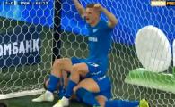 Ti-ai rupt mana? Nu ne pasa! :) Jucatorii lui Zenit s-au urcat peste Dzyuba, care tocmai se accidentase VIDEO