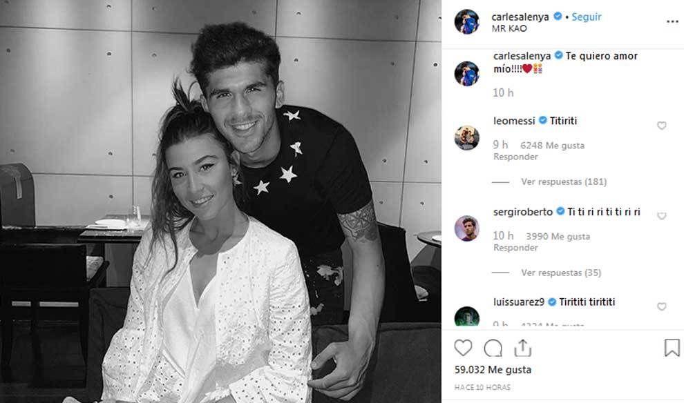 Messi si Suarez au TROLAT un jucator de la Barca care si-a declarat public iubirea fata de iubita. FOTO
