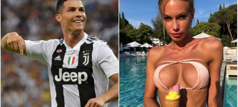 """""""Nu pot trai fara sex! Imi place si de 5 ori pe zi"""". BOMBA SEXY indragostita de Juventus si Ronaldo """"rupe"""" internetul. GALERIE FOTO"""