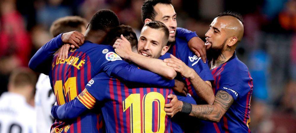 Performanta FABULOASA pentru un jucator de la Barcelona! Poate castiga in acest weekend al 8-lea titlu consecutiv, cu 3 cluburi diferite