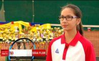"""Noua minune din tenisul feminin din Romania: """"Agresiva ca Serena, se misca la fel ca Simona Halep!"""" Ce o face unica"""