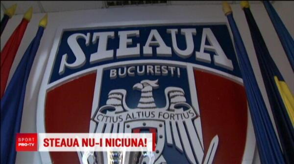 CSA a primit interzis sa foloseasca marca STEAUA BUCURESTI! Decizia luata astazi de judecatorii Curtii de Apel Bucuresti
