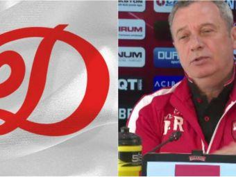 Dinamo vrea sa revina la sigla din perioada comunista. Cum a reactionat Rednic cand a aflat:  Si cu cainii cum facem?  VIDEO