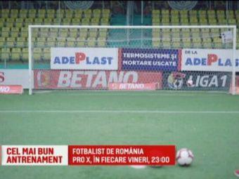 """Antrenorii din Liga 1 s-au intors pe teren! Teja, campion la """"Fotbalist de Romania"""", vineri la 23.00 la Pro X"""