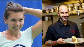 "Cum arata meniul Simonei Halep de Paste! Chef Samuel Le Torriellec i-a gatit: ""A zis ca nu vrea desert, dar cand m-am intors mancase tot!"" :)"