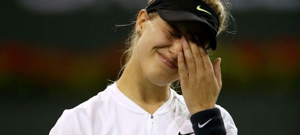 """Lovitura grea pentru Eugenie Bouchard: """"Am decis sa ne despartim!"""" Jucatoarea din Canada a ramas fara antrenor"""