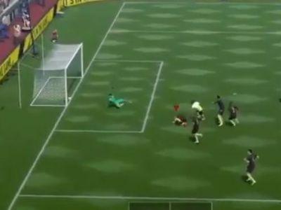 Faza dupa care iti vine sa te lasi de FIFA! Este imposibil ce s-a putut intampla: a ratat de 6 ori golul in cateva secunde