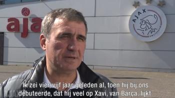 """""""Lasa-ma, papa, la Ajax"""" :) Olandezii au dezvaluit ce au spus Hagi si Ogararu despre transferul lui Razvan Marin! VIDEO"""