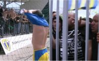 Nervi si scandal la Ploiesti, dupa ce Petrolul si-a diminuat sansele la promovare! Ultrasii i-au dezbracat pe fotbalisti! FOTO