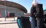 """FILM XXX la stadionul lui Atletico! Imagini nebune: """"actorii"""" si-au tras hainele si au fugit de paznicii arenei. FOTO"""