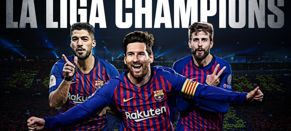 "BARCELONA - LEVANTE 1-0 | ""Inca un titlu in colectie"". Messi, al 10-lea titlu cu Barca! REACTII MARCA, AS si SPORT CATALUNYA"