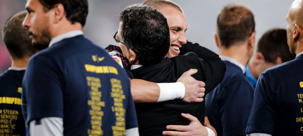"""Intai ma duc in vacanta! Cand ma intorc, o sa-mi caut echipa!"" Un fotbalist de la Barcelona si-a anuntat plecarea dupa ce a luat titlul"
