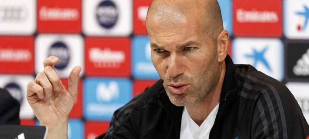 """Zidane nu mai suporta umilinta: """"Mi-e imposibil sa apar jucatorii!"""" Mesajul dur al francezului"""