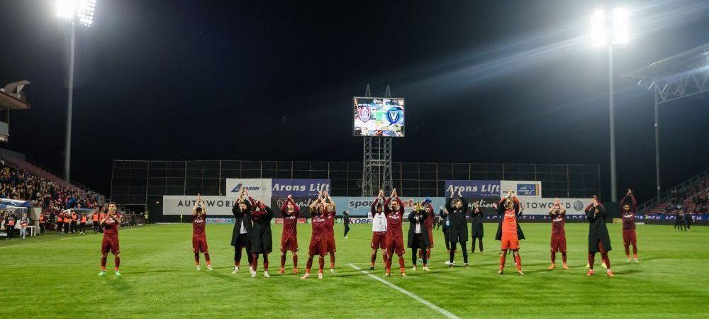 CFR poate fi campioana Romaniei inca de etapa viitoare! Ce sanse mai au FCSB si Craiova: TOATE CALCULELE pentru lupta la titlu