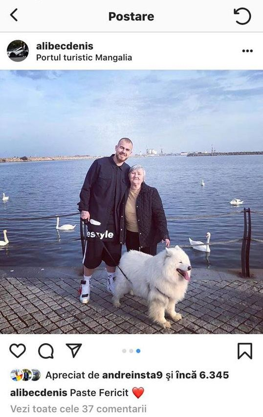 Denis Alibec si-a dus iubita la mare de Paste. Cum arata cucerirea atacantului de la Astra. FOTO