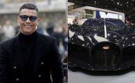 Cristiano Ronaldo nu se mai satura! E singurul om din lume care are o astfel de masina: costa 11 MILIOANE EURO! FOTO