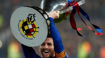 Lionel Messi, decorat de autoritatile catalane! Starul argentinian a primit distinctia pe care doar Johan Cruyff o mai are