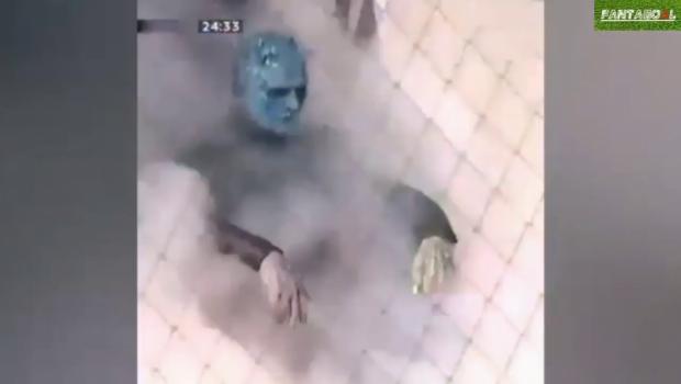 Regele Noptii din Game of Thrones a aparut la un meci din Rusia. VIDEO FABULOS! :))