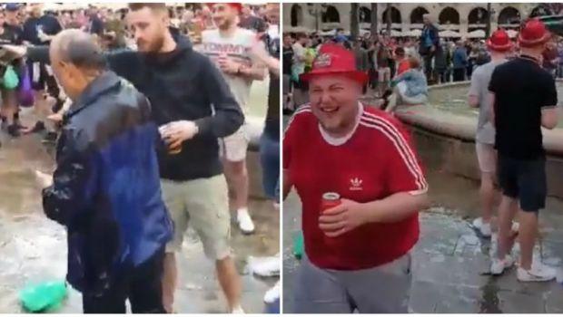 BARCELONA - LIVERPOOL   Sase fani englezi, ARESTATI dupa ce au facut prapad in Barcelona! Ce s-a intamplat cu turistii care au ajuns in mijlocul suporterilor! VIDEO