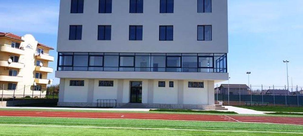 Un nou stadion de lux in Romania!!! A costat 14,1 milioane de lei! Cum arata tribunele si ce super facilitati are