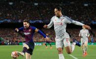 """Van Dijk, declaratia care spune TOT! """"Liverpool nu a pierdut cu Barcelona. A fost invinsa de Messi, cel mai bun din lume"""""""
