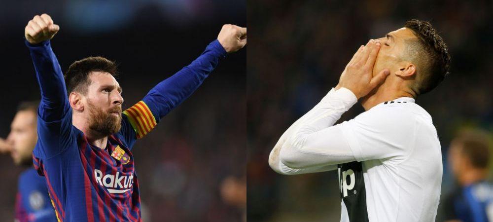 Messi se uita de sus la Cristiano Ronaldo! Capitolul la care l-a umilit pe portughez in acest sezon: STATISTICA RUSINOASA pentru CR7
