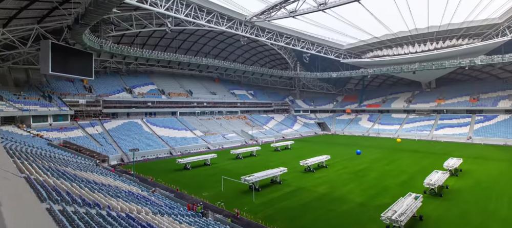 E gata STADIONUL VAGIN! Prima super arena pentru Mondialul din Qatar a fost terminata! Inauntru e FIX ca stadionul de la Craiova! E incredibil cum arata exteriorul!