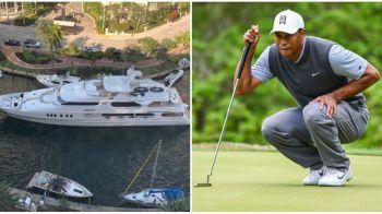 BIJUTERIA de 15.000.000 de lire a lui Tiger Woods! Cum arata iahtul cu sala de forta si jacuzzi! INCREDIBIL cat costa intretinerea lui!