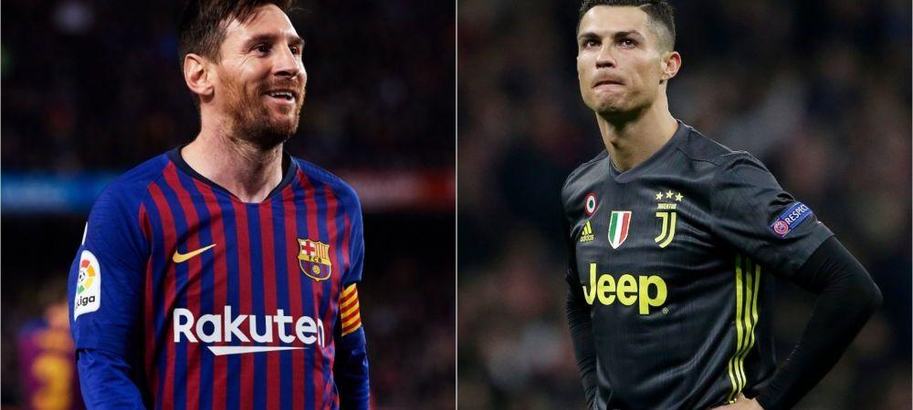 Cum a reactionat Ronaldo dupa dubla lui Messi din meciul cu Liverpool. Cei doi sunt egali la goluri