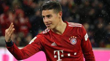 Te pup, pa pa! Decizia FINALA in cazul lui James Rodriguez! Ce se intampla cu starul pe care nu-l mai vor nici Real, nici Bayern