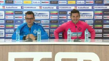 """Hai, ma, Lucica, maaa!"" Nu-l gaseau pe Filip! :))) Moment genial la conferinta FCSB! Ce a facut Teja"