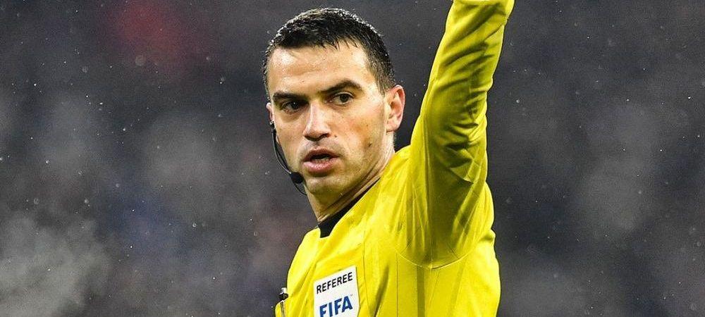 Anunt URIAS pentru Hategan: arbitreaza semifinala de Europa League! Meciul anului pentru romani