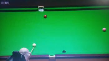 Probabil cea mai proasta lovitura din ISTORIA snookerului in semifinala mondialului! Ce se intampla la aceasta executie