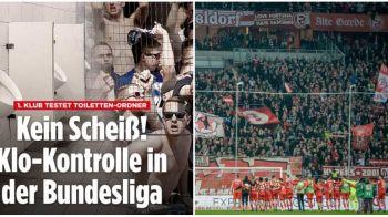 Pe aici se trece doar cu buletinul! Motivul FABULOS pentru care fanii din Bundesliga trebuie sa prezinte actul de identitate la intrarea in toaleta!
