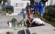 FOTO SFASIETOR | Lorena, la mormantul lui Ilie Balaci alaturi de jucatorii de la Daco-Getica!