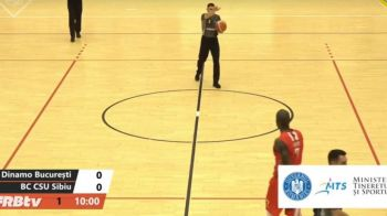 LIVE Dinamo - Sibiu, in play-off-ul Ligii Nationale de Baschet