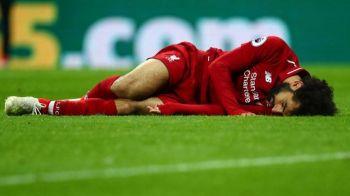Salah, scos de pe teren pe targa in meciul cu Newcastle! Egipteanul lui Liverpool, in lacrimi dupa o accidentare HORROR!