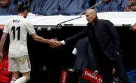 Ruptura totala la Real Madrid! Gareth Bale, nici macar pe banca la meciul cu Villareal! Cum a explicat Zinedine Zidane decizia!