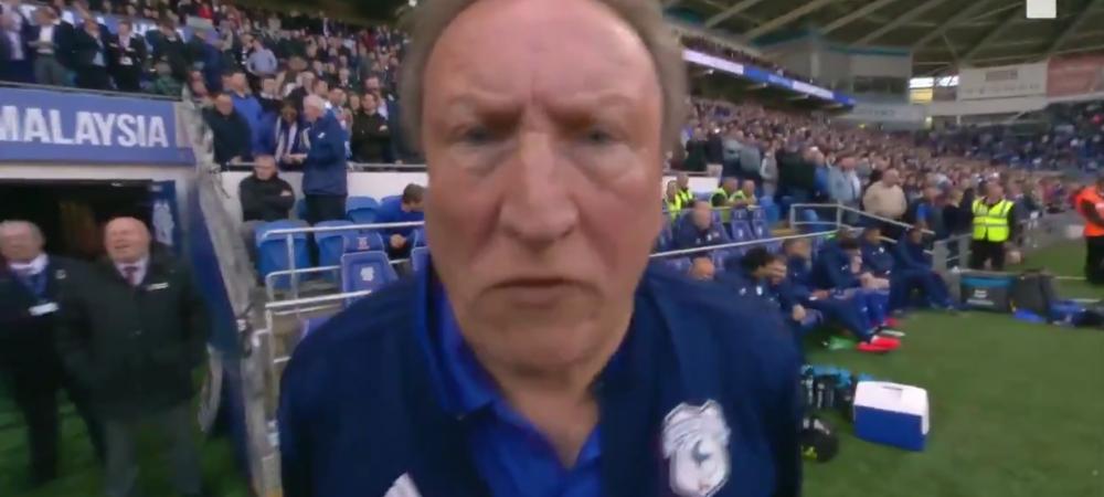 Clipul MOMENTULUI: are doua milioane de vizualizari intr-o zi! Antrenorul lui Cardiff i-a dat TEROARE cameramanului care-l urmarea! :)) Ce a facut
